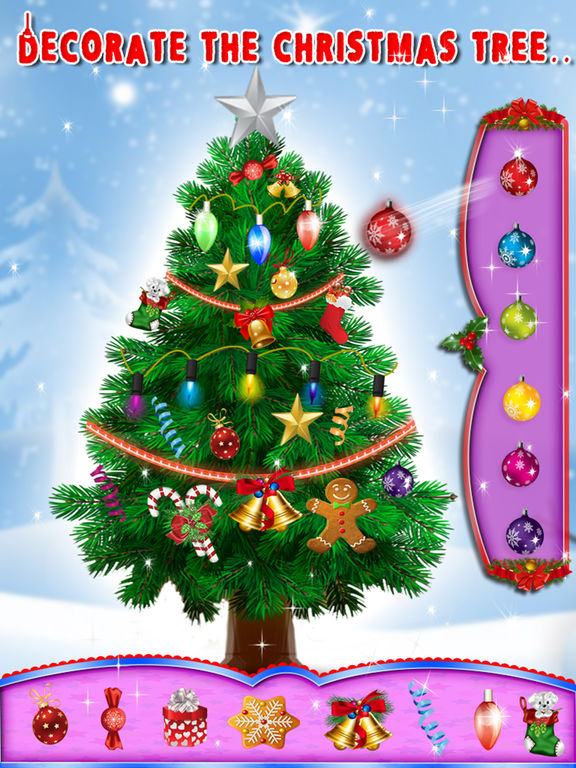 App shopper christmas tree decoration game