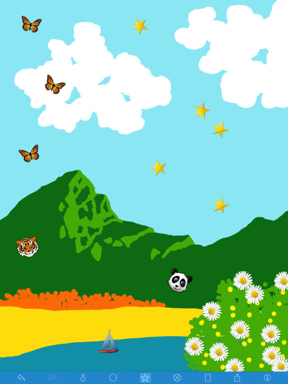 Kids Finger Painter Screenshots