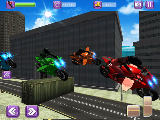 Flying Drift Bike Racing screenshot 6