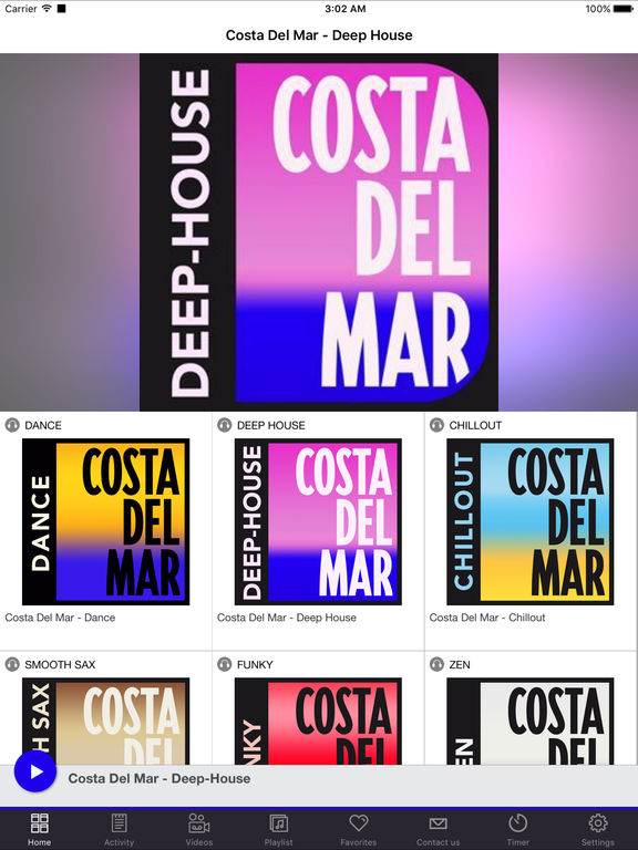 App shopper costa del mar deep house music for Deep house music charts