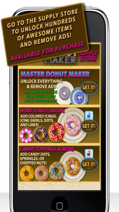 Donut Maker iPhone Screenshot 5