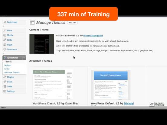 WordPress 101 iPad Screenshot 5