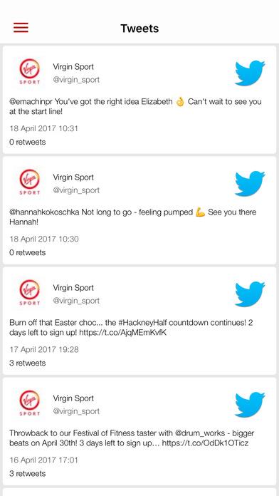 Screenshot #8 for Virgin Sport Festivals