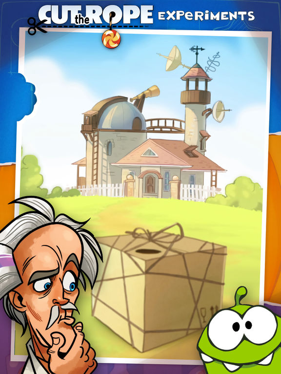 Screenshot #2 for Cut the Rope: Experiments HD Free
