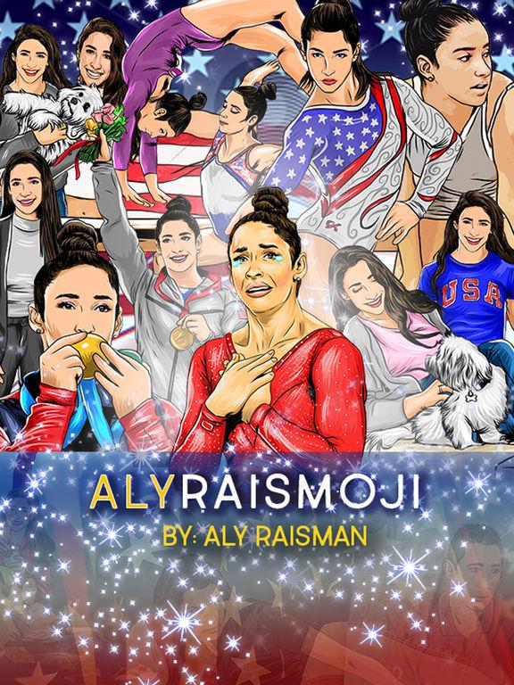 AlyRaismoji by Aly Raisman screenshot 6