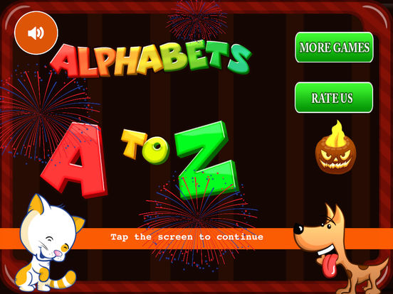 Alphabets HD Lite by KLAP - Best way to learn alphabets for kids. Learning is fun and entertaining now. iPad Screenshot 1