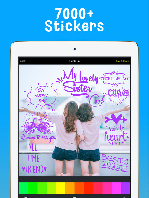PalPic: Photo stickers capture special moment Screenshots