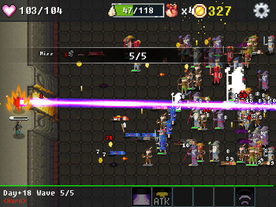 Dungeon Defense : The Invasion of Heroes Скриншоты10