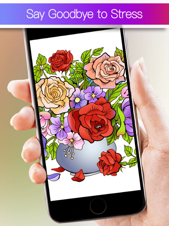 Colorfly : Coloring Book for Adults - Free Gamesscreeshot 1