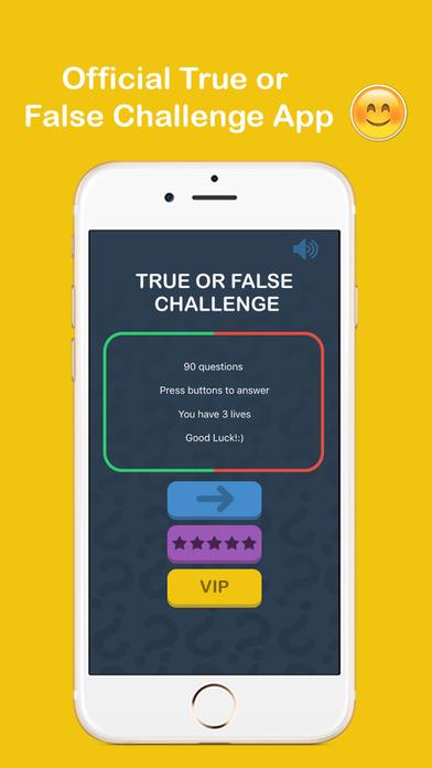 App Shopper: Trivia Quiz - True or False Edition Challenge (Games)