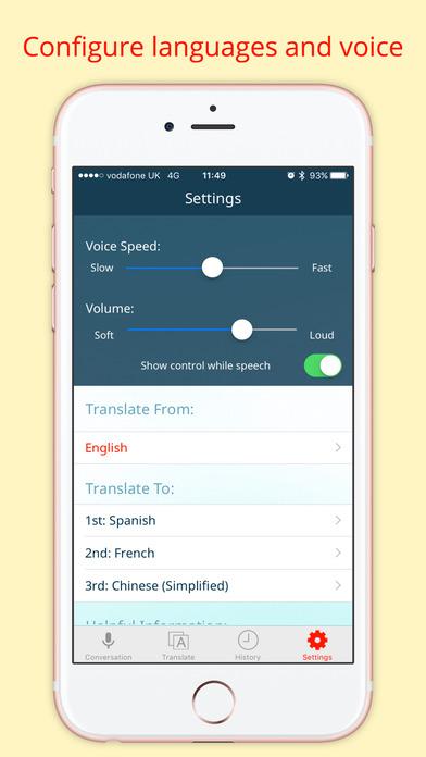 Instant Voice Translator Pro Screenshots