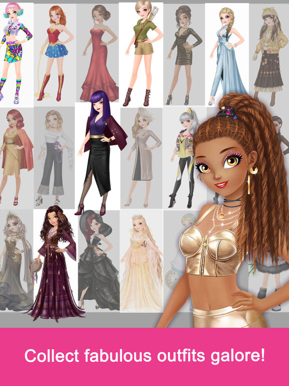 Fashion Fantasy - Dressup and Travel the Worldscreeshot 5