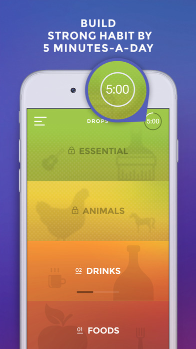 Screenshot #6 for Learn English language & words with Drops