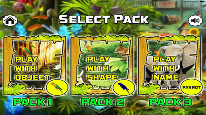 Animal Safari Hidden Object Games screenshot 1