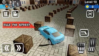 Super Car Parking Adventure Pro screenshot 1