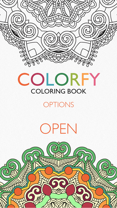 Online Colouring Pages For 7 Year Olds : Colorfy: coloring book for adults on the app store