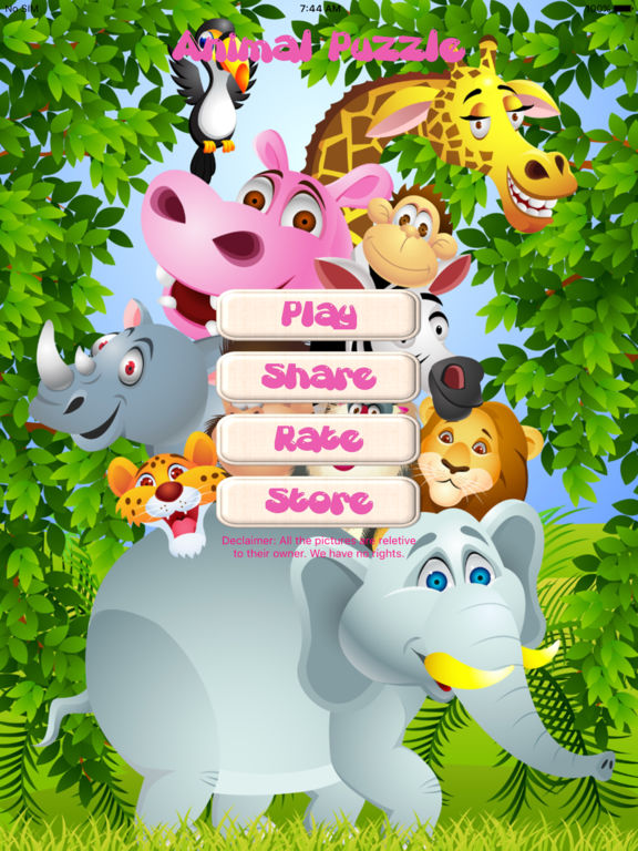 Animal Puzzle only Kids screenshot 5