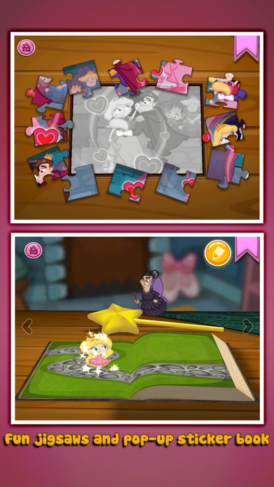 Grimm's Sleeping Beauty ~ 3D Pop-up Book Screenshots