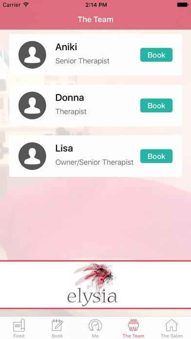 Elysia Health and Beauty screenshot