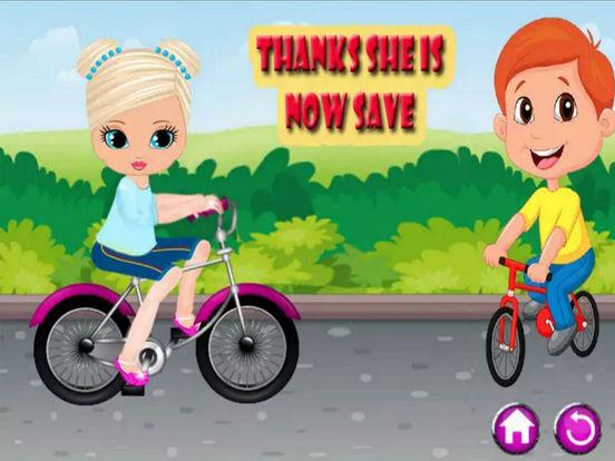 Kids Princes Bicycle Ride screenshot 9