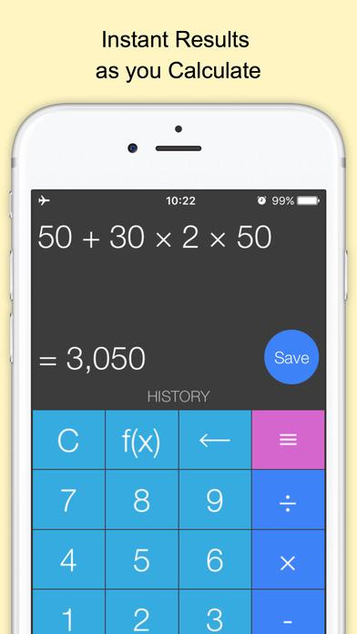 Screenshot #1 for Xmart Calculator Pro