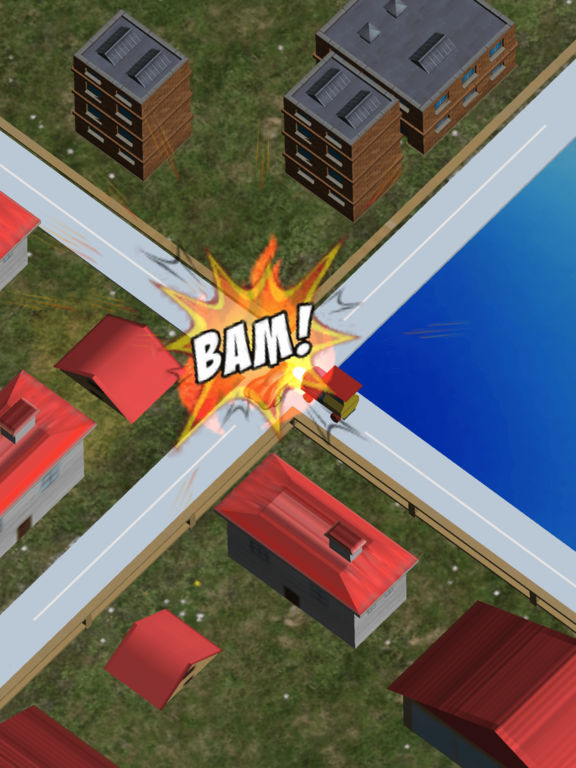 Mini Train Street Rush Pro screenshot 4