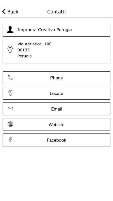 Impronta Creativa screenshot