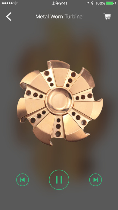 Fidget Spinner - Top Hand Finger Spinner Simulator screenshot 4