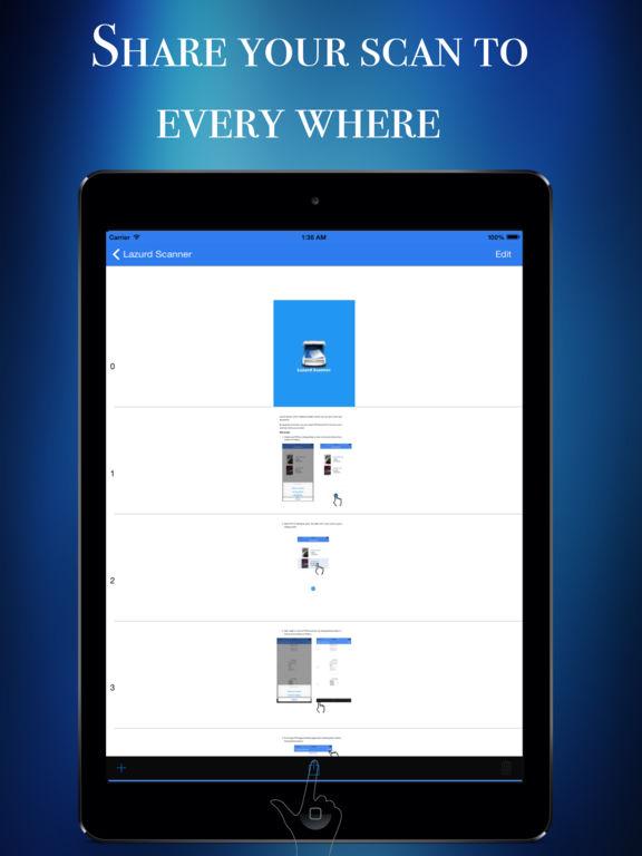 Lazurd  - PDF Scanner | Document Scanner Pro Screenshots