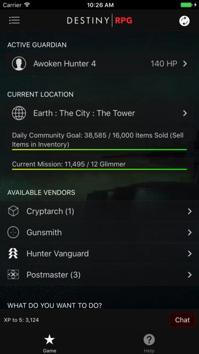 RPG for Destiny screenshot 1