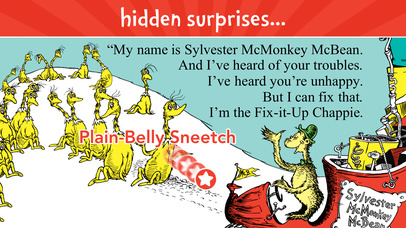 The Sneetches by Dr. Seuss screenshot 3