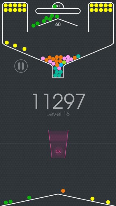 100 Balls - Tap to Drop the Color Ball Game screenshot