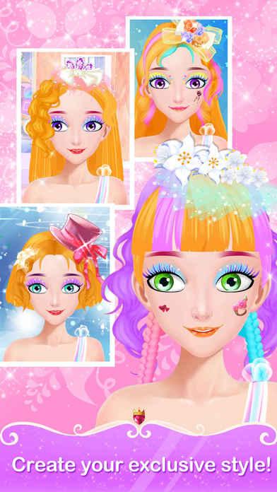 App Shopper Princess Hair Salon Girls Dream Hairstyle