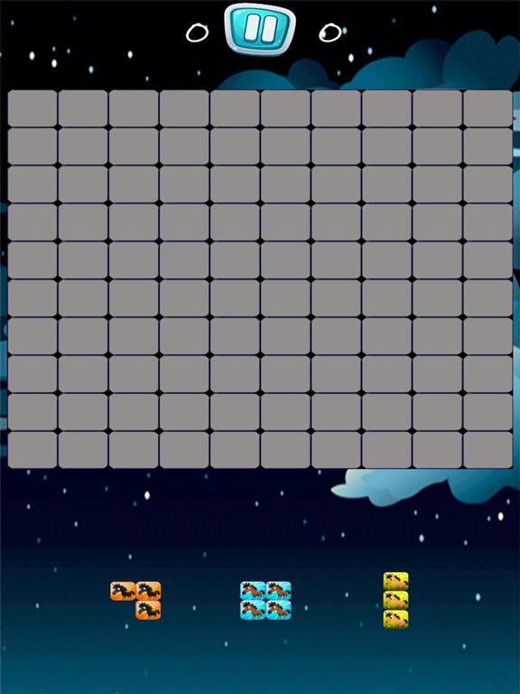 Pony Unicorn New Tetri Puzzle Flow screenshot 4
