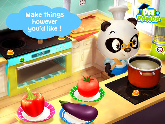 Screenshots of Dr. Panda's Restaurant 2 for iPad