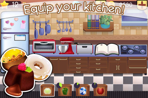 Cookbook Master - Kitchen Chef & Food Maker Game screenshot 3