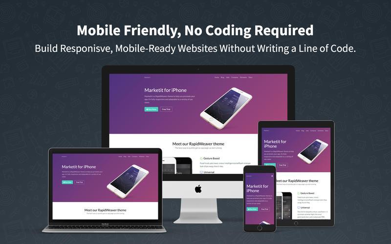 RapidWeaver 7 - Website Builder Screenshots