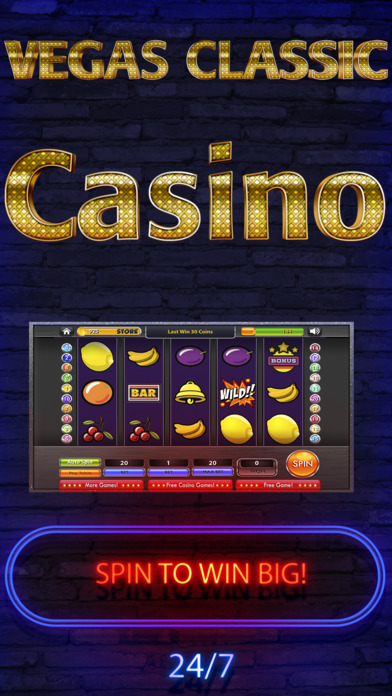 Screenshot 1 Vegas Classic — Epic Jackpot Slot & Casino Games 7