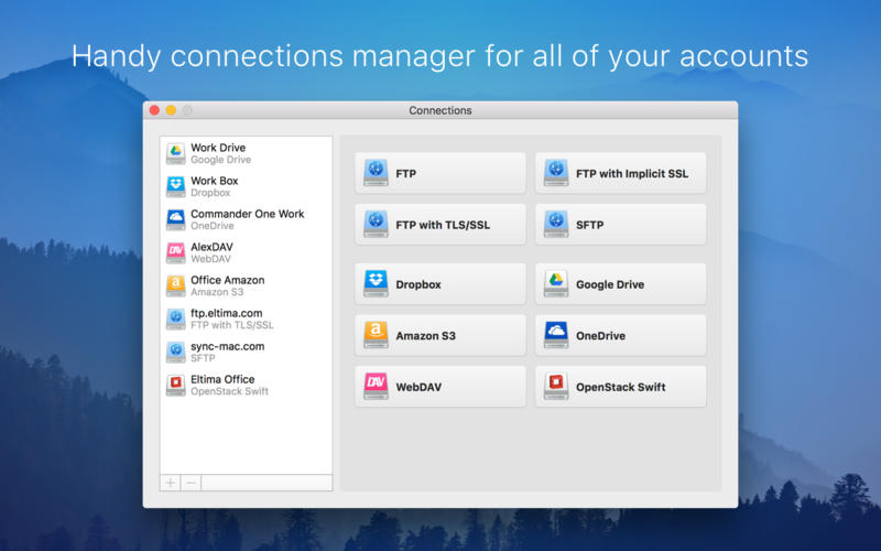 CloudMounter - mount cloud storage as local drive Screenshots