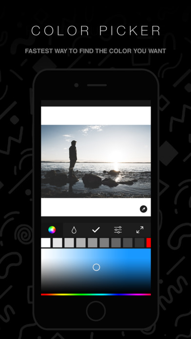 Screenshots of InstaFit - Post Photos To Instagram Without Cropping Free for iPhone
