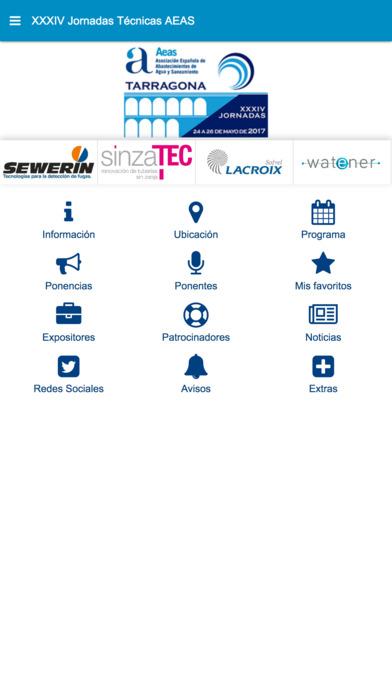 XXXIV Jornadas Técnicas AEAS screenshot 1