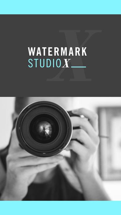 Screenshots of Watermark Studio X Free - Copyright & Trademark.s for iPhone