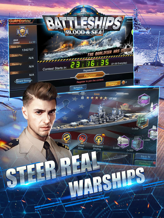 Battleships: Blood & Sea APP