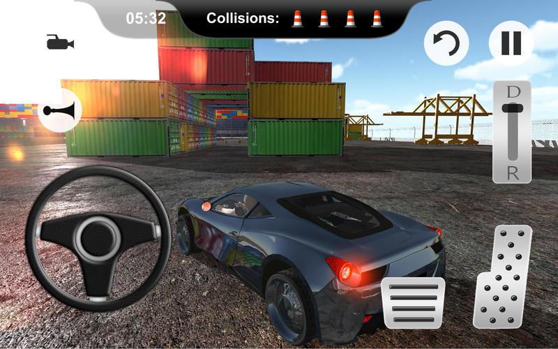 car parking test drive and parking simulator app. Black Bedroom Furniture Sets. Home Design Ideas