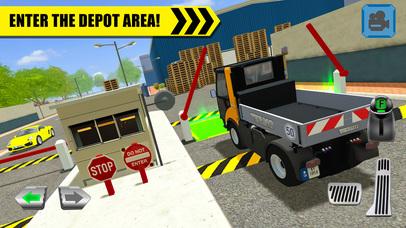 Truck Driver: Depot Parking Simulator Screenshot 1