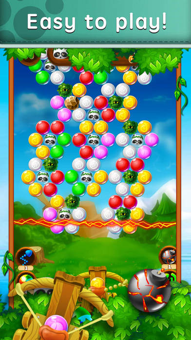 Candy Panda Shooting screenshot 2