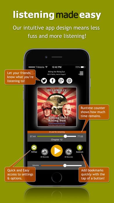 AudiobookSTORE.com - Audiobook Listening Made Easy Скриншоты4