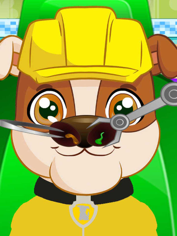 Pups Nose Doctor Kids Game screenshot 6