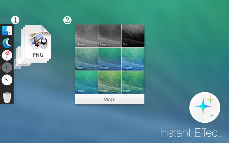 Instant Effect for Mac 1.1 破解版 – 图片快速添加滤镜特效工具-爱情守望者