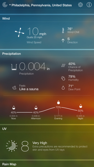 Weather Live Reloaded screenshot 4